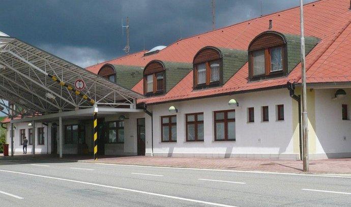 Bývalý hraniční přechod ve Slavonicích