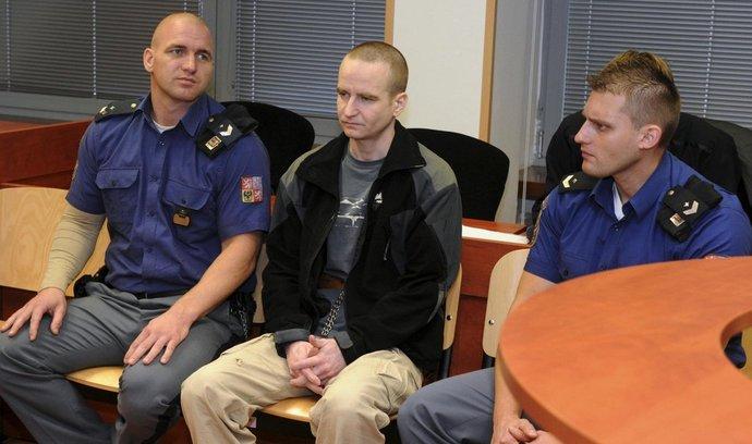 Bývalý voják Michal Krnáč má za vraždu vlivného člena ČSSD Romana Housky strávit 17,5 roku ve vězení