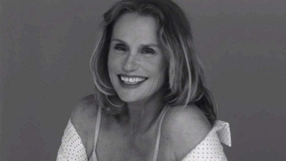 Lauren Hutton v kampani Calvin Klein