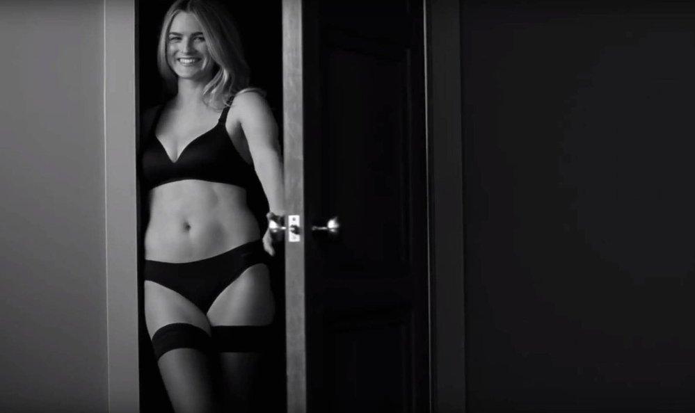 Nathalie Love v kampani Calvin Klein