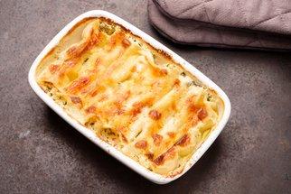 Sýrové cannelloni se špenátem: Plněné těstovinové trubičky, které se nevaří!
