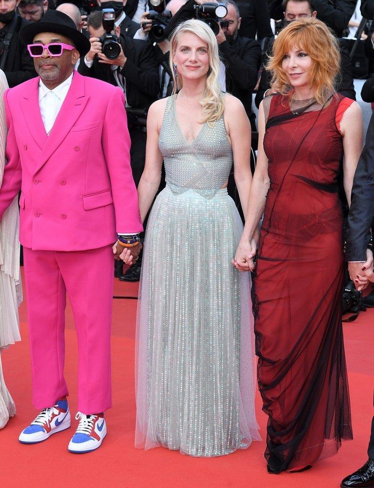 Francouzská herečka Mélanie Laurent, jedna z letošních porotkyň