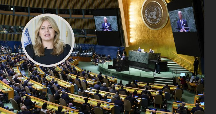 Čaputová y Biden en la Asamblea General sobre vacunas y clima