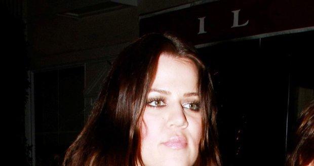 Khloe Kardashian dříve