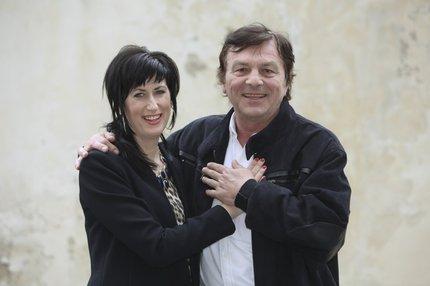 Monika Fialková a Pavel Trávníček.