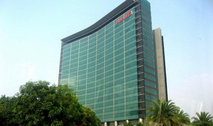 Centrála čínské technologické firmy Huawei v Shenzhenu