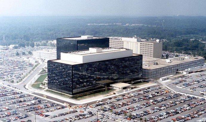 Centrála NSA ve Fort Meade v Marylandu.