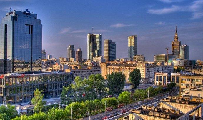 Centrum Varšavy (ilustrační foto)