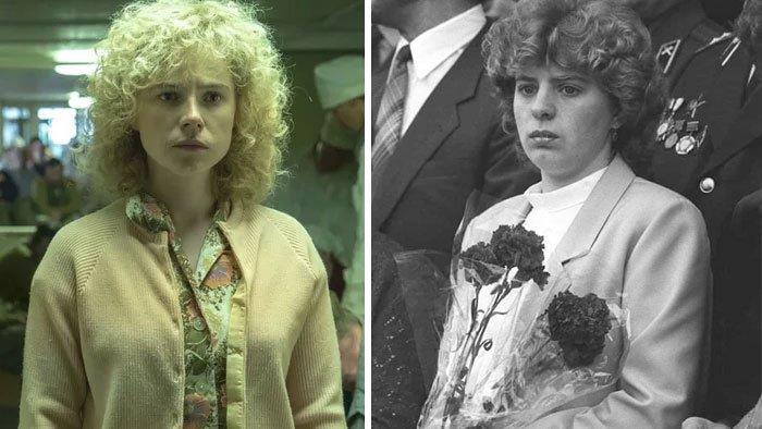 Jassie Buckley a Ljudmila Ignatěnková si jsou velmi podobné. Manželka hasiče, který zemřel na následky ozáření, žije se svým synem v Kyjevě