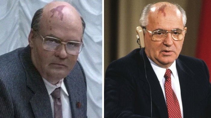 David Dencik jako Michail Gorbačov. Prvního muže SSSR, pro něhož znamenala černobylská katastrofa začátek konce, netřeba představovat
