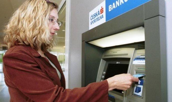 Česká spořitelna, bankomat