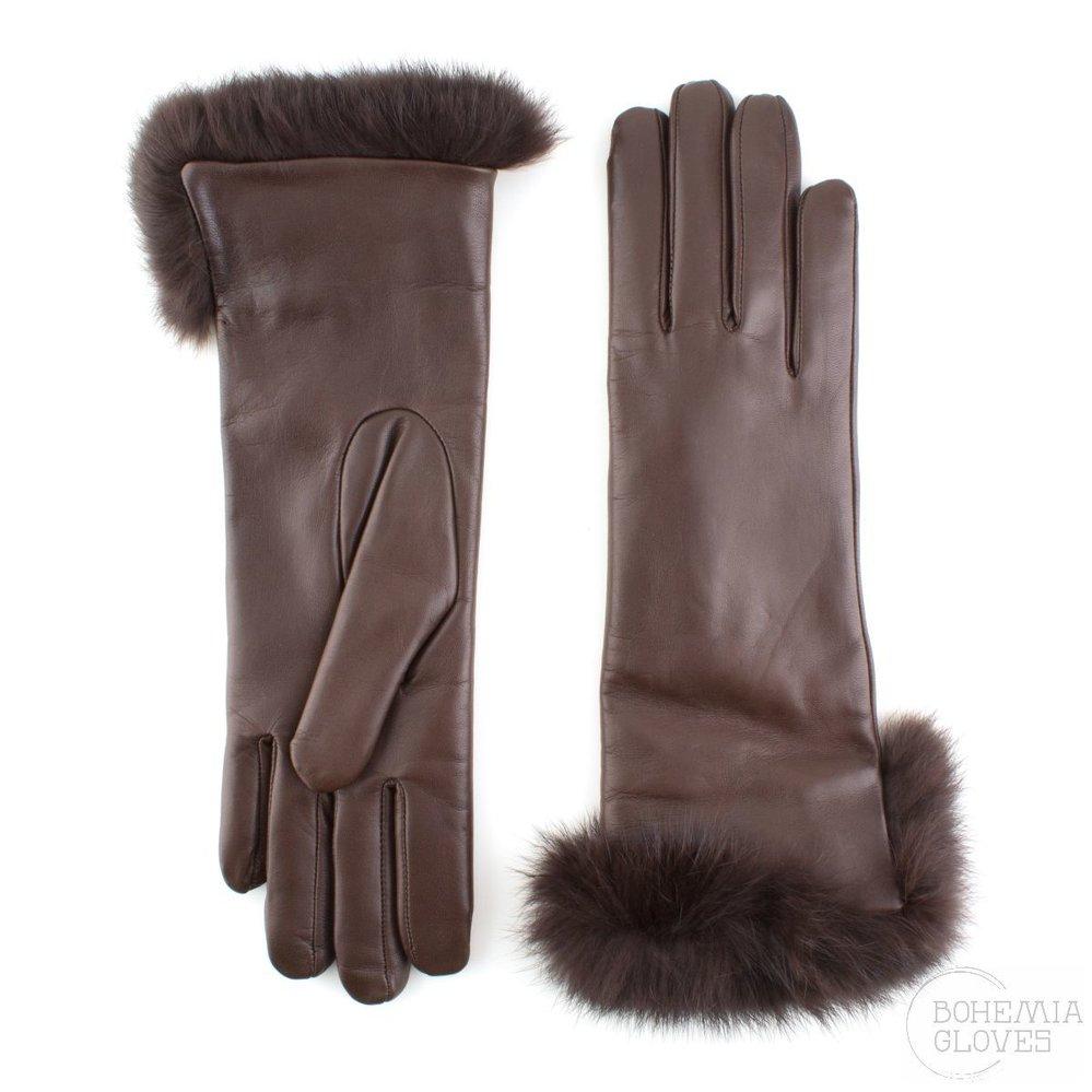 Dámské kožené rukavice, Bohemia Gloves, 1850 Kč, www.bohemiagloves.com
