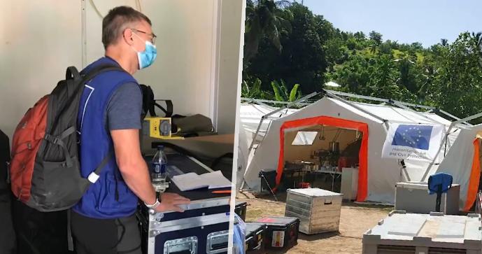Miroslav a Tomáš jsou doma! Hasiči pomáhali na zemětřesením postiženém Haiti