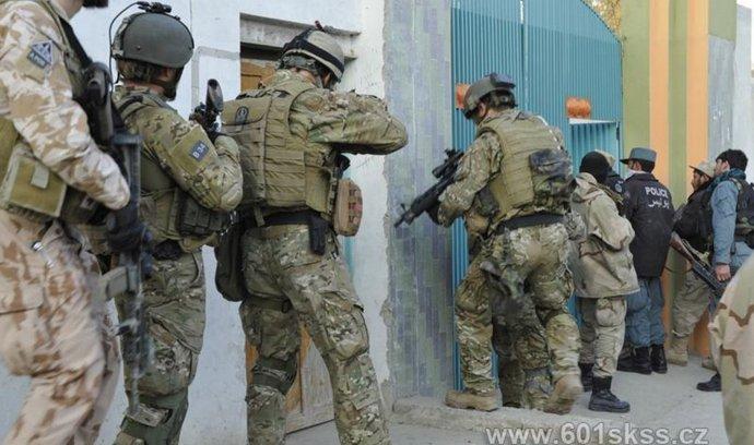Čeští vojáci z 601. skupiny v Afghánistánu