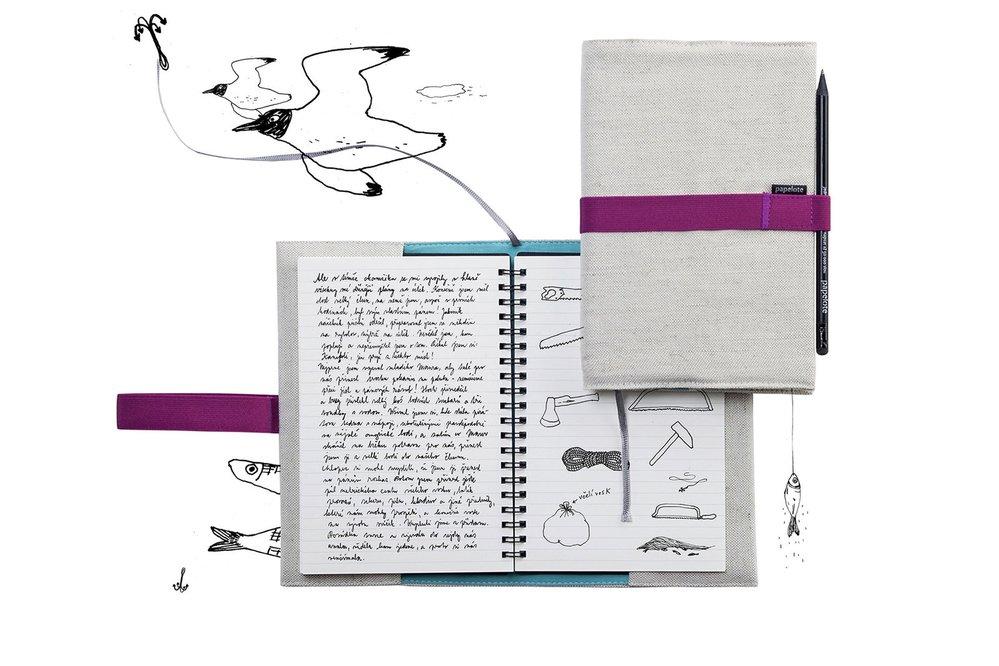 Cestovní deník, Papelote, 350 Kč