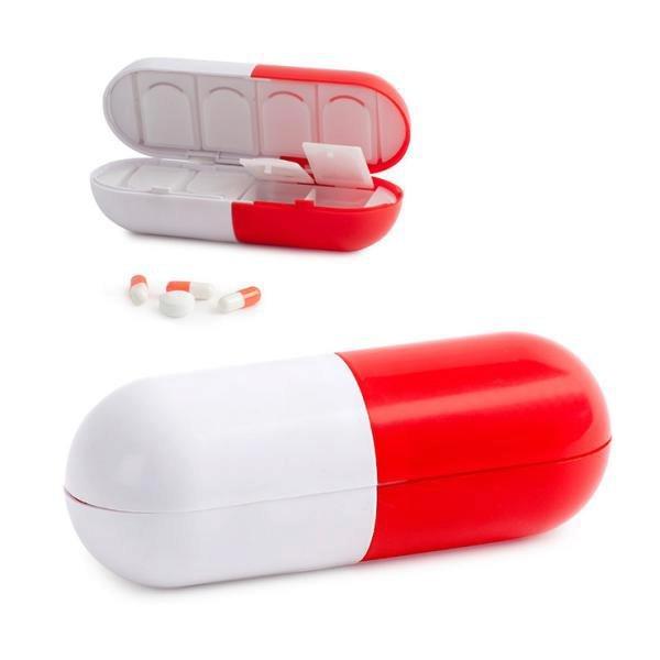 Pouzdro na tabletky BALVI Super Pill, Naoko, 95 Kč