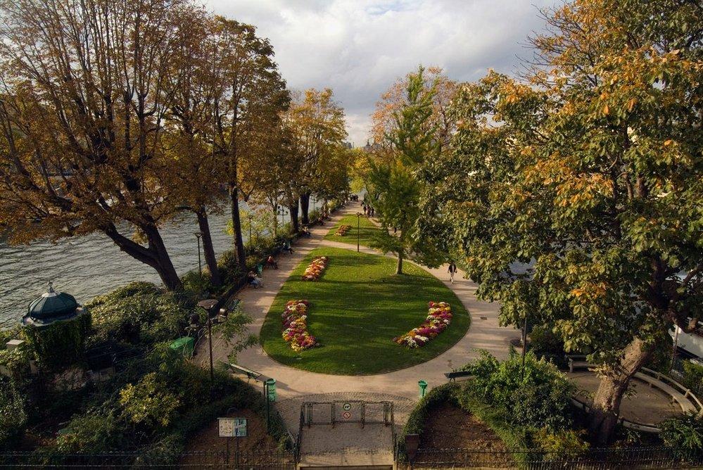 Square of the Vert-galant, Paříž