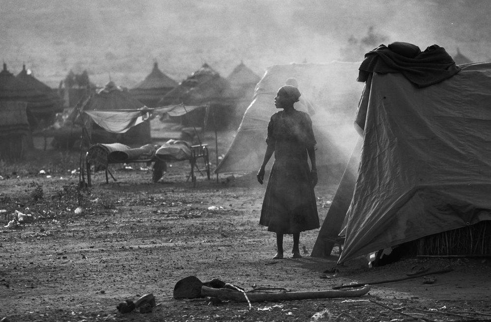 Jižní Súdán, Juba, utečenecký tábor