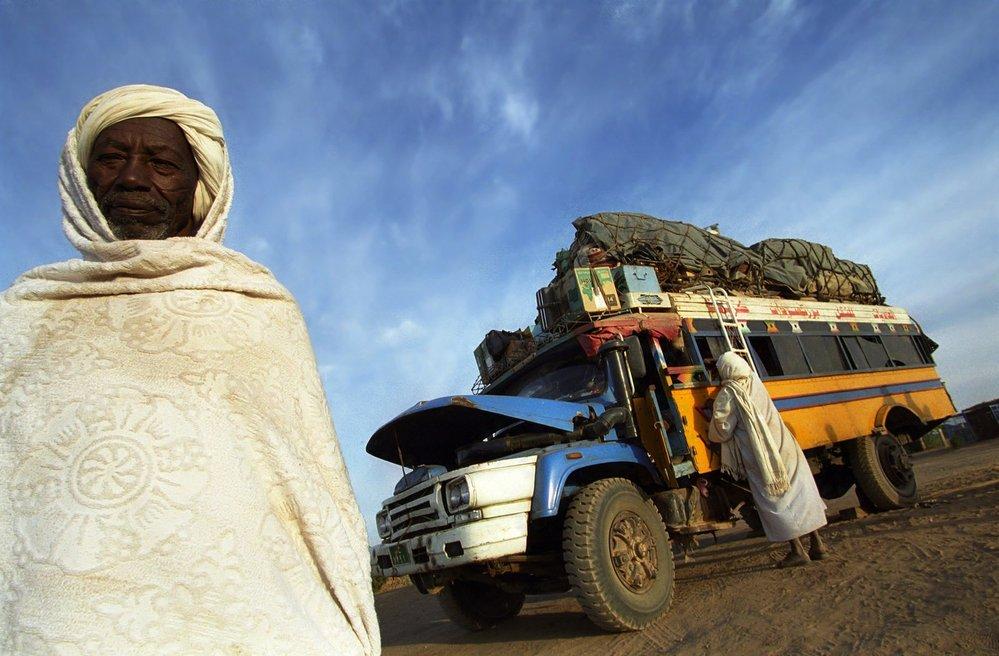 Severní Súdán, koráb pouště