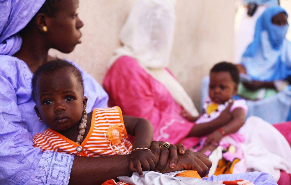 Mauretánie, očkování, UNICEF