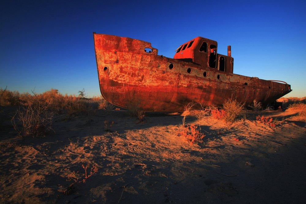 Uzbekistán, Aralské jezero