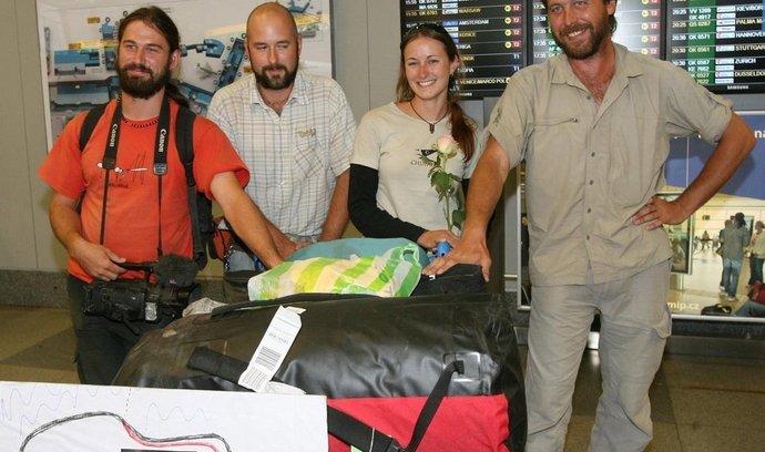Cestovatelský tým Dana Přibáně