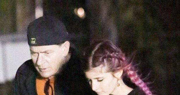 Charlie Sheen s dcerou Sami.