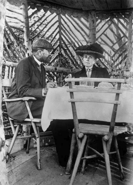 """Charlotta žila skromně. Odmítala oslovení """"milostpaní"""", pro všechny byla """"paní Masaryková""""."""
