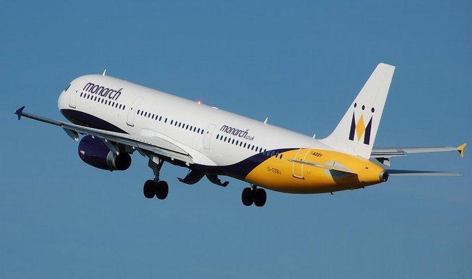 Chcete létat ekologicky? Využijte britských aerolinek Monarch, radí organizace Atmosfair