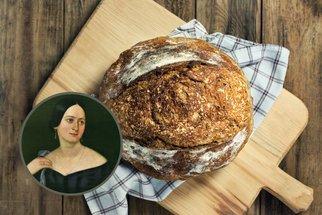 Domácí kváskový chléb jako od babičky z knihy Boženy Němcové: Upečte si klasiku!