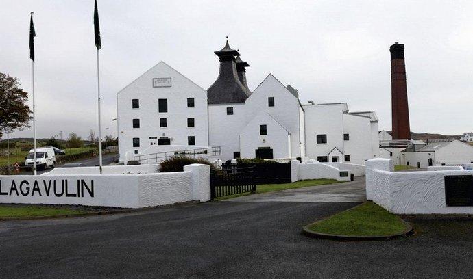 Destilerie na ostrově Islay
