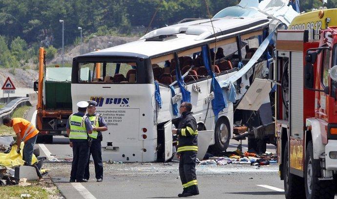 Chorvatsko, nehoda