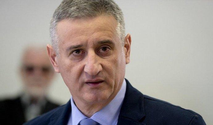 Chorvatský opoziční lídr Tomislav Karamarko