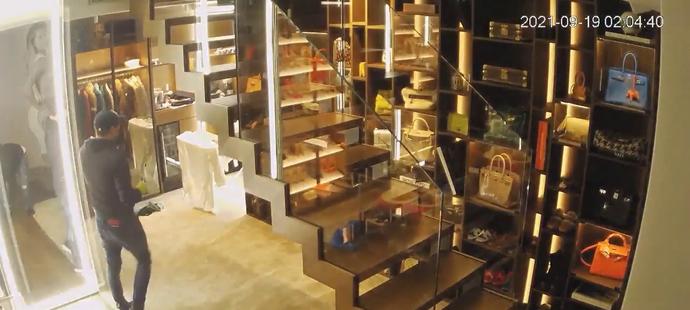 Slovenská policie zveřejnila video z loupeže v bytě slovenské tenisové superstar Dominiky Cibulkové