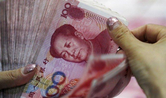 čínská měna Jüan