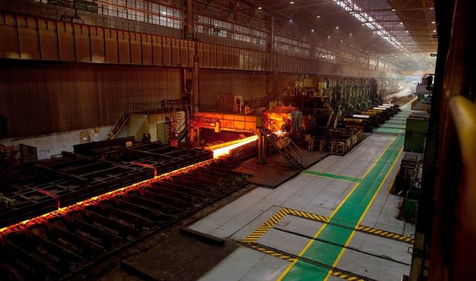 Čínská ocelárna Shanghai Baosteel Group Corporation