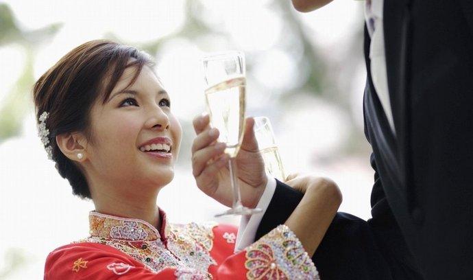 Čínská svatba, ilustrační foto