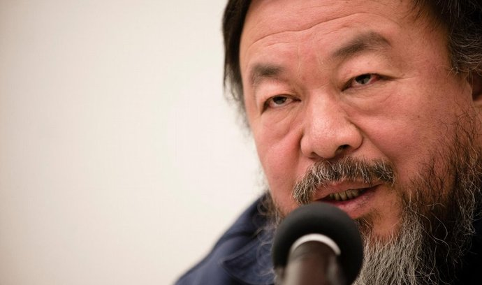 Čínský umělec Aj Wej-wej