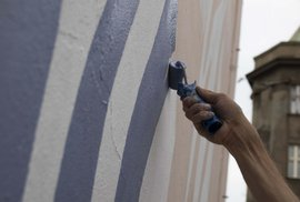 Zeď, která na mobilu ožije. Smíchovský mural City Forrest vám ukáže člověka z …