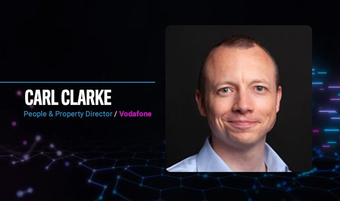 Carl Clarke, Vodafone