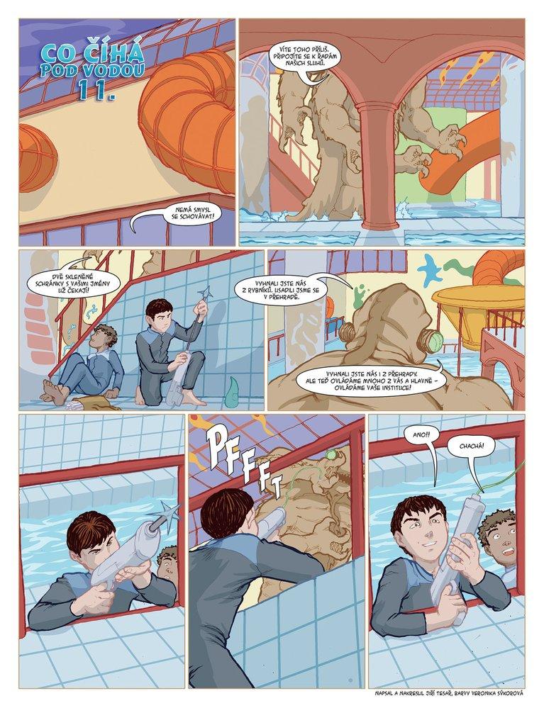 Co číhá pod vodou 11