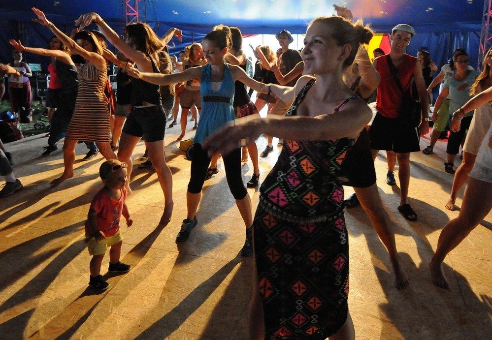 Africké tance Bande Fan
