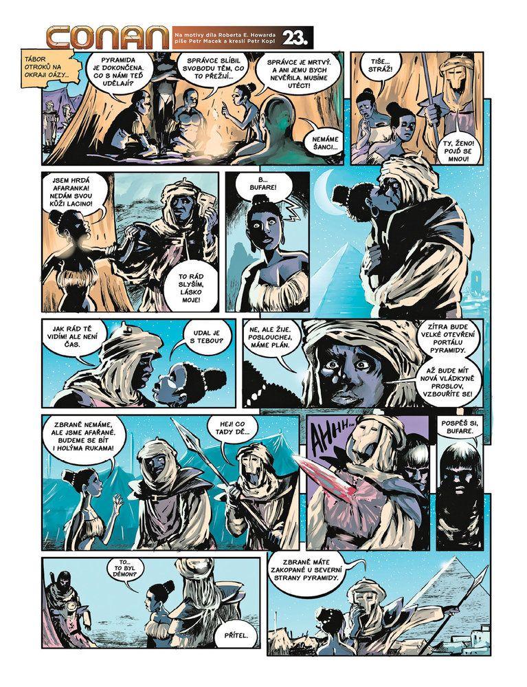 Conan a jeskyně života 23