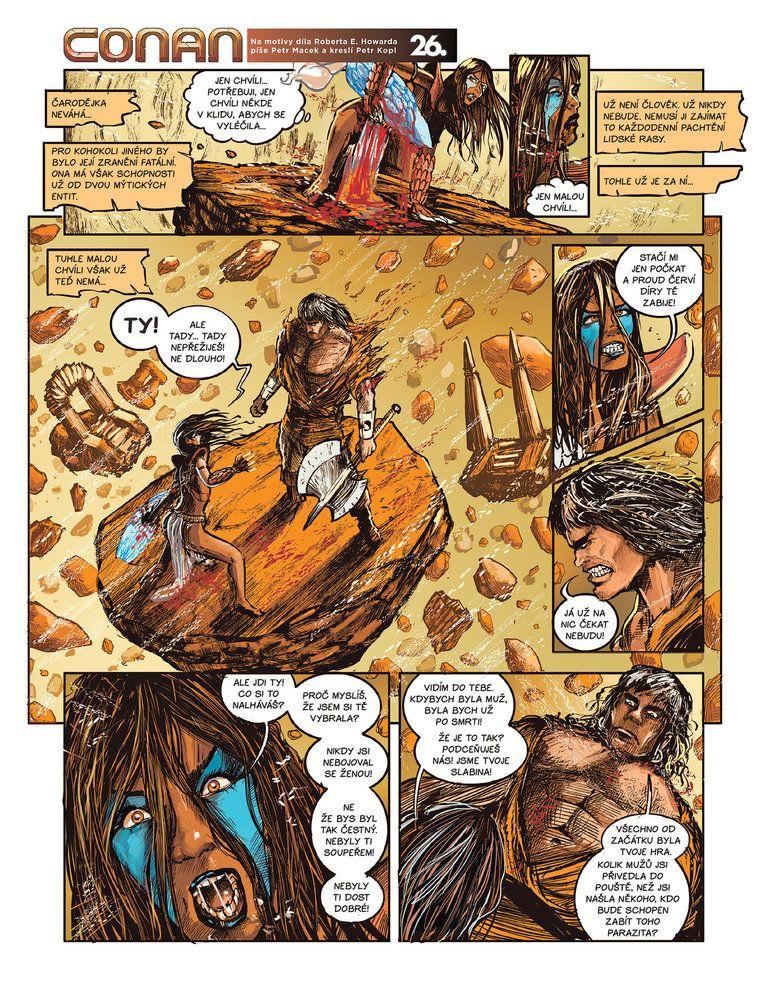 Conan a jeskyně života 26