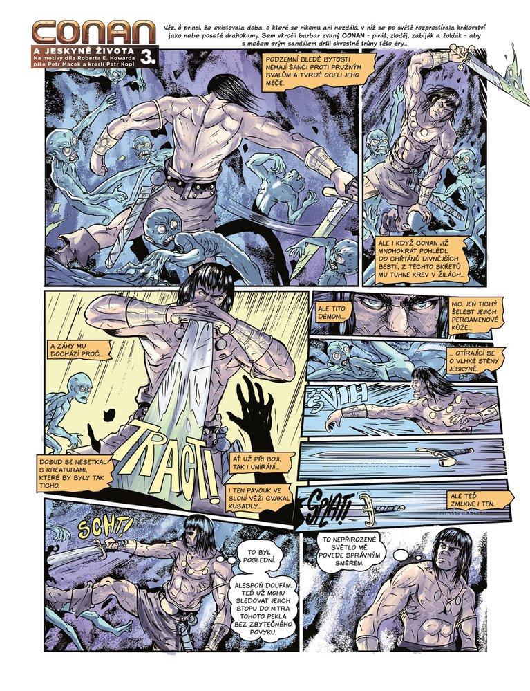 Conan a jeskyně života 3