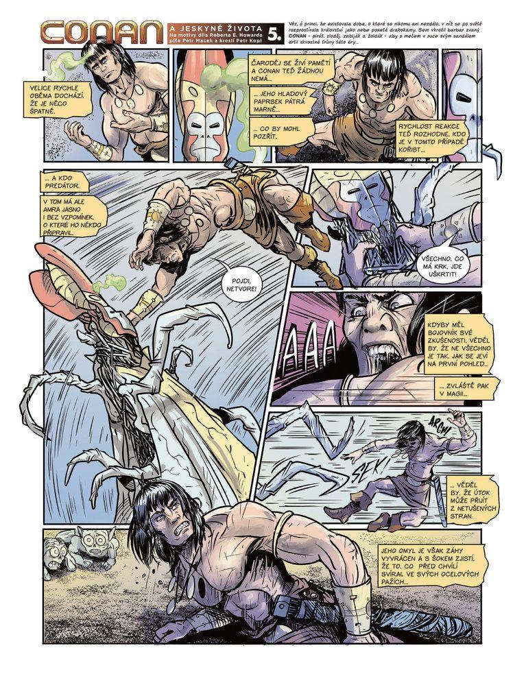 Conan a jeskyně života 5