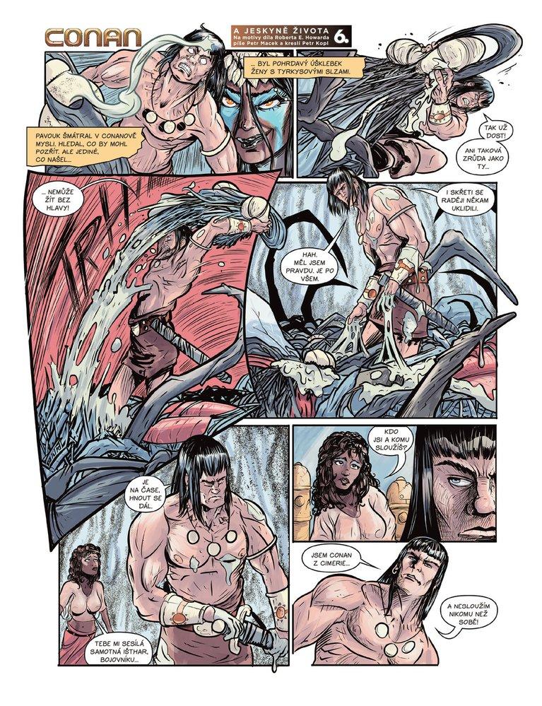Conan a jeskyně života 6