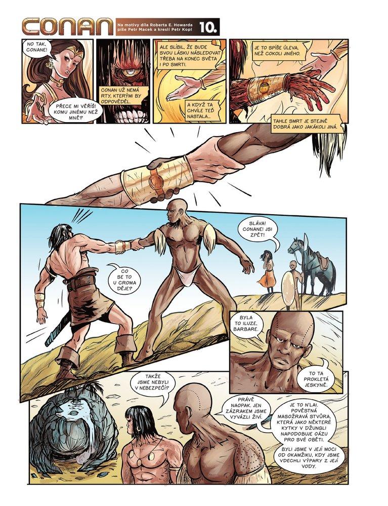Conan a jeskyně života 10