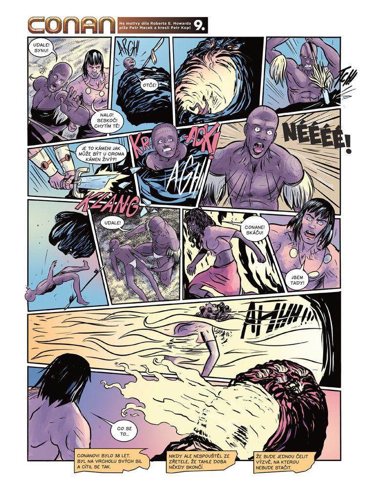 Conan a jeskyně života 9