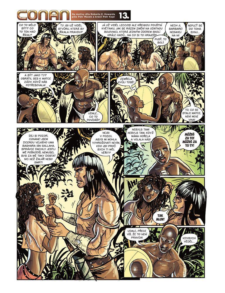 Conan a jeskyně života 13